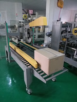 High efficiency CHY-50PC automatic carton box folding and gluing machine wholesaler