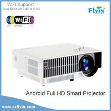 2015 top quality Perfect new build in android 4.4 wxga 1080p home theater 3d led projector