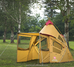 Korean Style Conical Camping Tent Big Family military tent camping