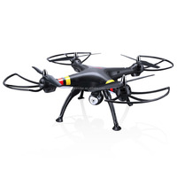 Gift Syma X8W quadcopter Explorers WiFi FPV RC Quadcopter with 2MP Camera RTF (Black and white)