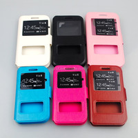 Made Of PU And Silicone Colorful Case For moto defy(me525) Magnetic Button Phone Cover