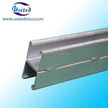 UNITED 164*82mm hot dipped galvanized dual C channel strut/ 164*82mm double C p purline /164*82mm Gal. Steel frame