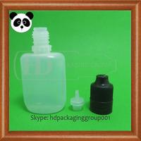 China manufacturer colorful child tamper proof cap smoke oil e liquid bottle 10ml LDPE e liquid bottle 10ml