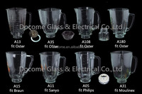 parts blender glass jar glass blender jar for oster osterizer hamilton beach black & decker sanyo moulinex