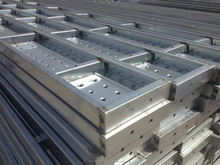 Hot Dip Galvanized Perforated Steel Plank for Ukraine