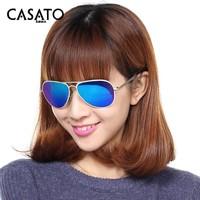2015 CASATO Polarized Alloy Frame UV400 Aviator Sunglasses Wholesale