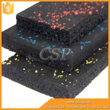 High Quality colorful acid resistant rubber floor tiles