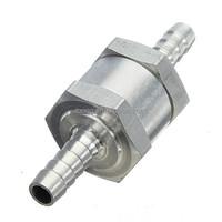 "Aluminium 8mm 5/16"" One Way Non Return Fuel Line Check Valve Petrol Diesel Water Non Return Valve"