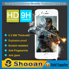 Factory Supplier anti blue light cut film tempered glass screen protector for iphone 4