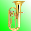 Brass Euphonium 4 Pistons for Sale
