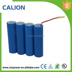 Shenzhen best price battery waterproof icr18650 battery pack