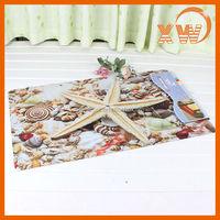 New Design Fashion Low Price Printed Floor Mat