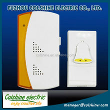 Hot sale 35songs AC 220V-250V wireless doorbell with UK plug