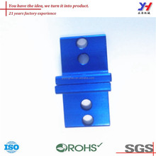 Customised cheap price different colors anodized aluminum bracket