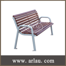 FW42 Heavy Duty Bench Chairs Made of Natural Wood Slats