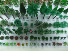 Varios de del ferrocarril de la disposición modelo para los árboles de la disposición del ferrocarril