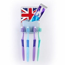 Funny sticky toothbrush holder/Adhesive toothbrushes toothpaste holder