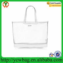 PU bottom handbags golden silver mesh tote bags