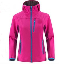 outdoor windproof waterproof soft shell jacket windbreaker for man and woman 100%nylon hooded light weight soft shell jacket
