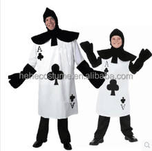 black and white poker costume ,poker party costume ,poker suit