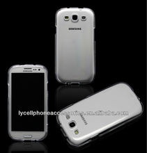 For Samsung Galaxy S3 i9300 Hard Gel New Mobile Phone Clear Case