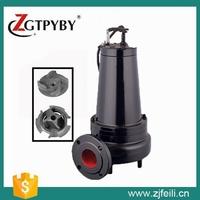 WQK series submersible sewage cutter pump vertical centrifugal pump high power water pump