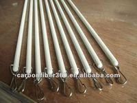 thick curtain rods,fiberglass curtain rod ,Diameter 6mm
