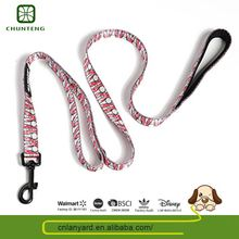 Pets Product Supplies Various Designs Available Exquisite Braided Nylon Rope Dog Leash Factory Direct Price