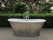 Classic Enamel skirted cast iron bathtub, apron cast iron bathtubs SW-1002A, freestanding enamel cast iron bathtub