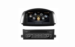 Car DVD for Renault Koleos 2014 with Gps 8 inch RDS iPod Radio Bluetooth 3G Wifi 20 disc copying S100 platform (TID-C329)