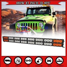 NEW Arrival high power 43 inch 480W LED Light Bar Offroad 4 Wheel Truck 4x4