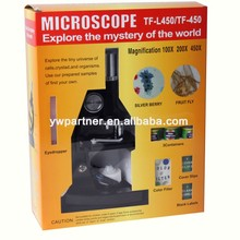 Student microscope with best pirice and good price TF-L450/600/750/900x science microscope