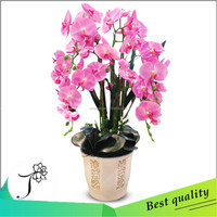 wholesale butterfly orchid artificial flower for indoor decoration