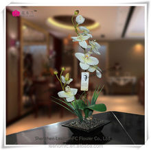 real touch artificial flowers preserved flower top quality artificial orchid flower