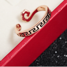 Ture love ! Straitjacket adjustable Wukong headband mosaic pattern ring for male and female couple