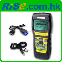 Car Scan Tool ISO CAN OBDII OBD2 EOBD Fault U581 Code Reader Diagnostic Scanner