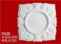 hot sales POP fiberglass plaster cornice mouldings for central panel in Africa market