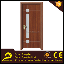 interior glass moulded armored wooden door