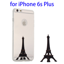 Best selling Mirror Ultrathin TPU protective case for iPhone 6s plus