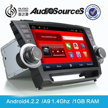 for toyota factory radio for Highlander 2011-2015 with WIFI SWC 1.6G CPU 1G RAM Gps map HD 1080P Bluetooth RDS