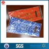 Die cut cosmetics treat bag Oriflame handle gusset gift bag
