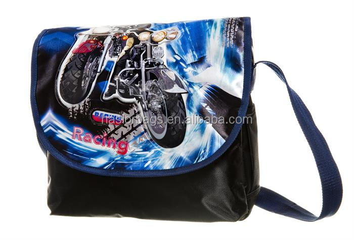 Cool design Pattern enfants sac à bandoulière avec bretelles