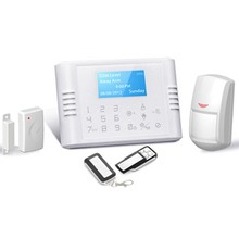 gsm+pstn dual network burglar alarm system Home/Business security Usage Home Alarm System