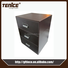 Tenice office pu artificial leather mini chest drawer, no foldable