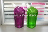 2013 newest Reusable soft water bottle/collapsible folding water bottle