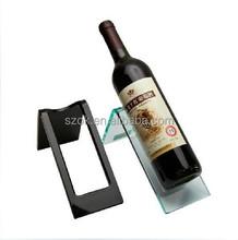 high quality acrylic wine bottle holder for single bottle