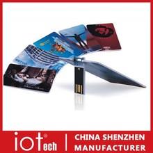 Corporate USB ID Card USB Memory Flash Drive 8GB 16GB