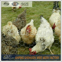 Chicken coop wire mesh/double twisted hexagonal wire mesh/triple twist hexagonal wire mesh