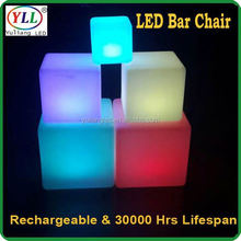 led glowing cube seat for ktv led cube outdoor chairs dining room furniture bench seat dining room furniture bench seat