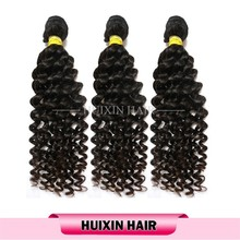 Deep curly virgin remy hair, tangle and shed free cheap cambodian virgin hair , Human Hair